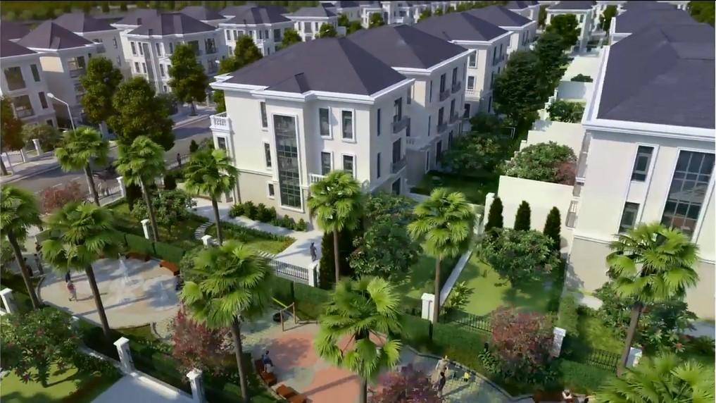 không gian tiện ích xanh tại dự án vinhomes dream city hưng yên